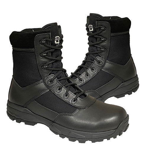 Mens and Ladies Black Leather / Nylon StealthBoots