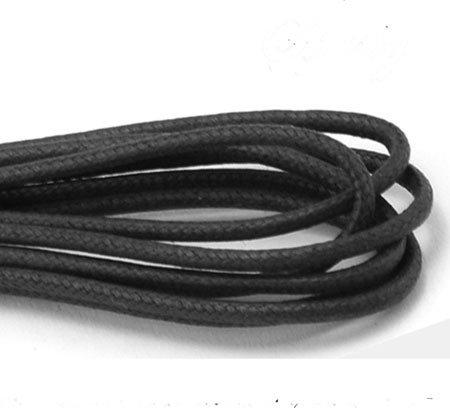 Lace Box of 5 Pair Black 80 cm Fine Shoe Laces