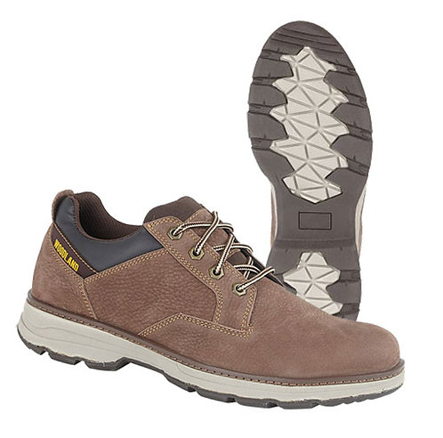 Mens Nubuck Leather 4 Eye Casual Shoes