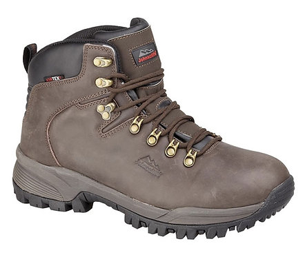 Mens / Boys Brown Waterproof Leather Hiking Boots Boots