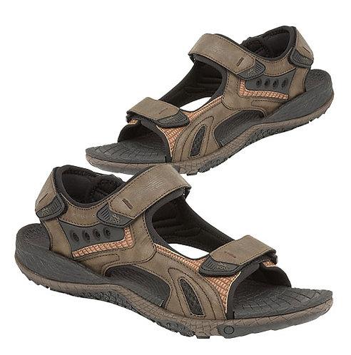 Mens brown Nubucki Sports Sandals