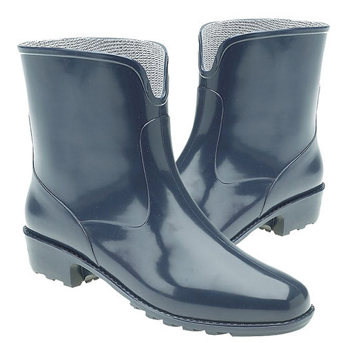 Stormwells Ladies Blue Ankle Wellington Boots