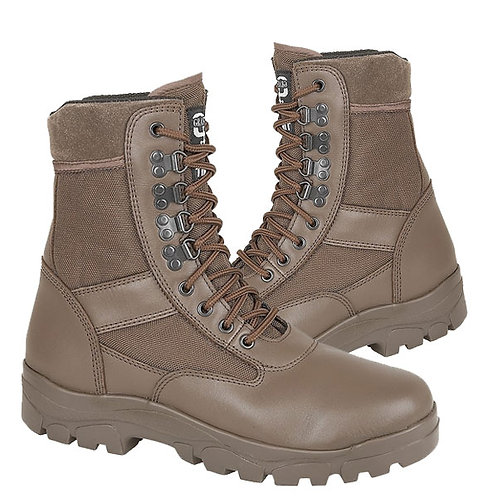 Mens and Ladies Brown Leather / Nylon G Force Boots