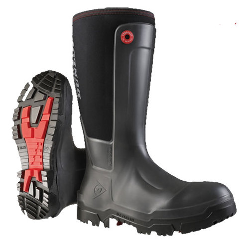 Dunlop Snugboot Pro Work Neoprene Lined  Safety Wellingtons
