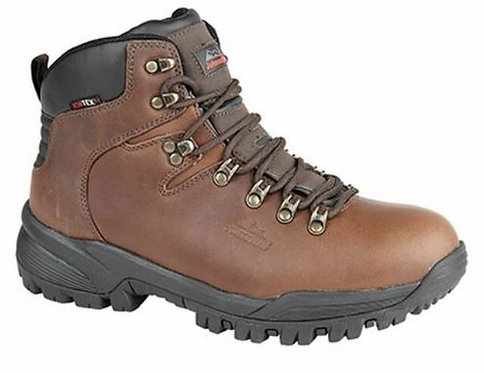 Waterproof Leather Hiking Boots by Johnscliffe Size 5