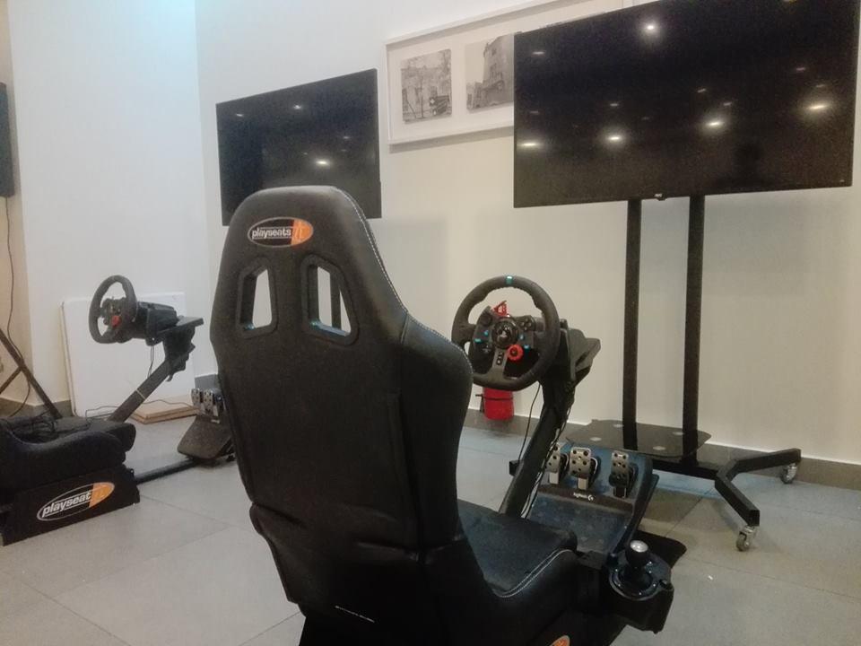 arriendo de simuladores de carreras