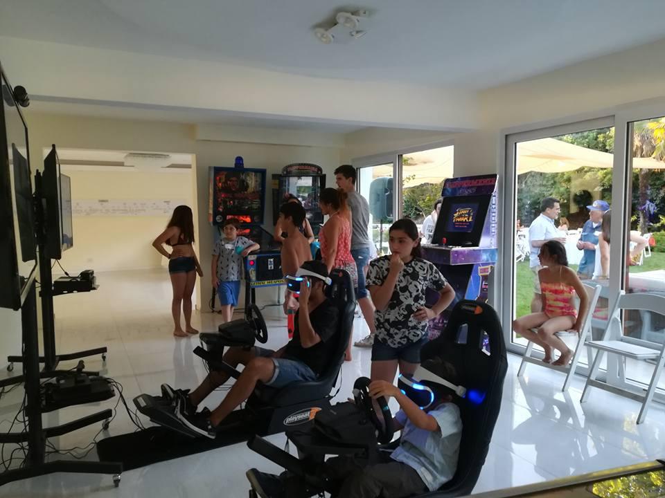 SIMULADOR DE CARRERAS VR
