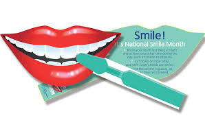 The Launch of National Smile Month