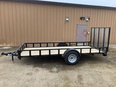 New 2021 ABU 72x14 Utility trailer