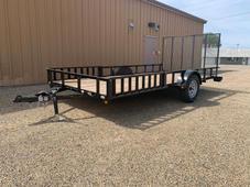 2) New 2022 ABU 82x14 Utility trailer