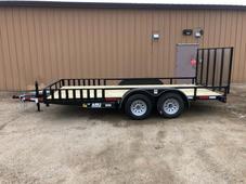 New 2022 ABU 82x16 Utility trailer