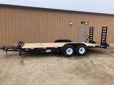 New 2022 ABU 20' Equipment trailer