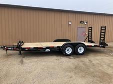 New 2021 ABU 20' Equipment trailer