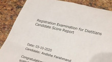 I PASSED my RD exam! I am a Registered Dietitian!!