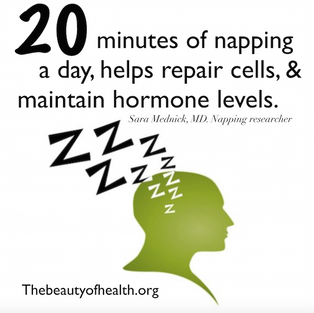 A 20-minute nap is a power booster to your psyche and overall health