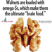 The impact of walnuts on your brain and health
