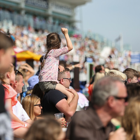 Save The Date - Family Fun and The Epsom Trainer's Open Day is coming this Bank Holiday weekend!
