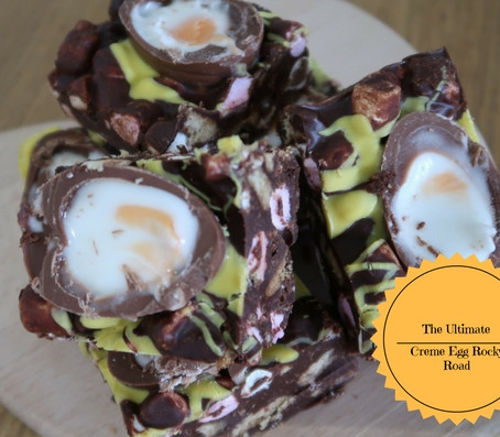 The Ultimate Creme Egg Rocky Road...