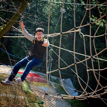 Hang out in the trees with the kids this summer at Skywalk Adventure!