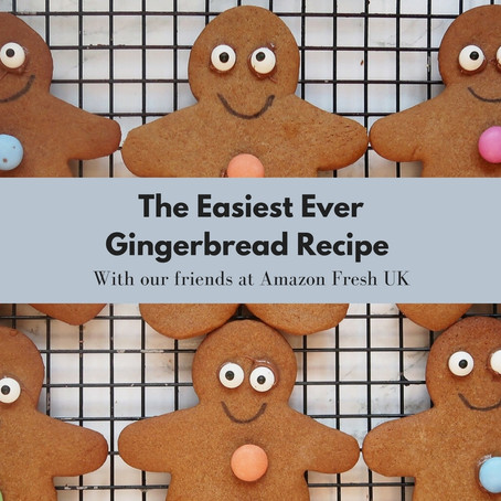 The Easiest Ever Gingerbread Recipe - with Amazon Fresh UK