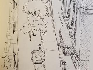 More Urban Sketching