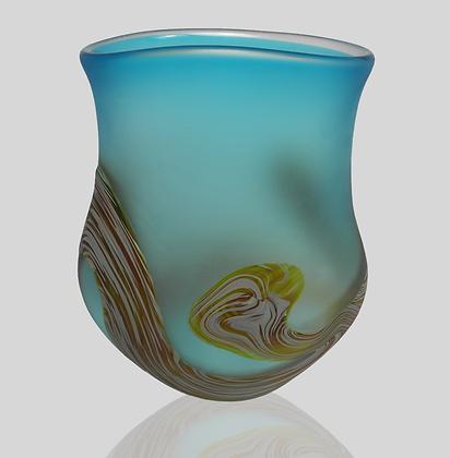 Aqua Root Vase
