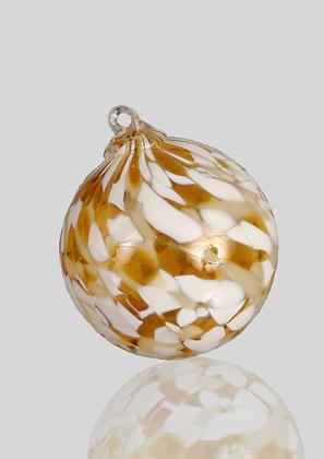 Gold & White Ball