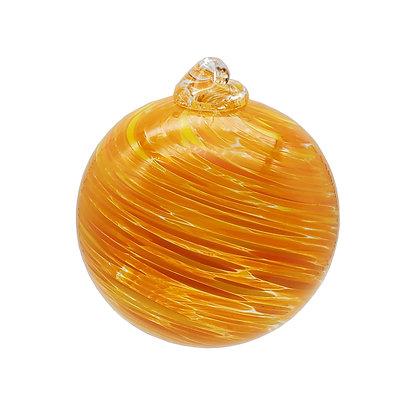 Orange Swirling Friendship Ball