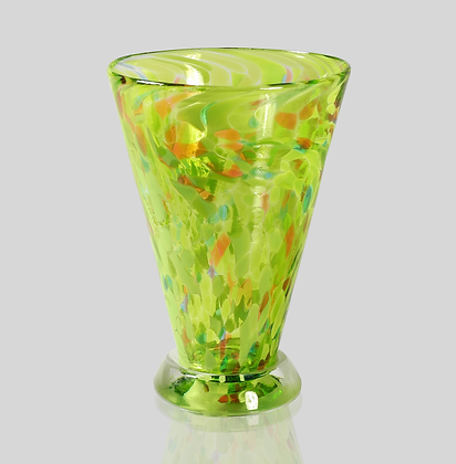 Green Speckled Cup