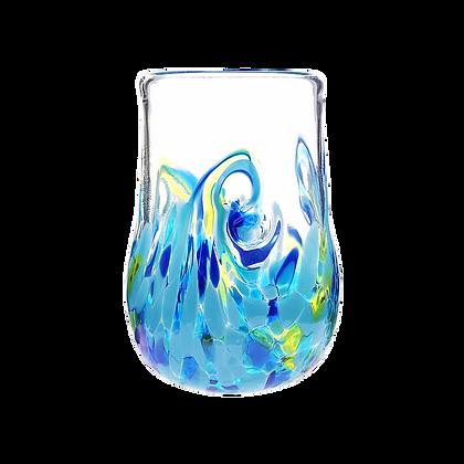 Blue Twisty Cup