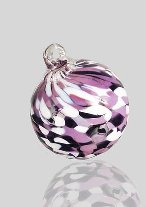 Purple & White Ball