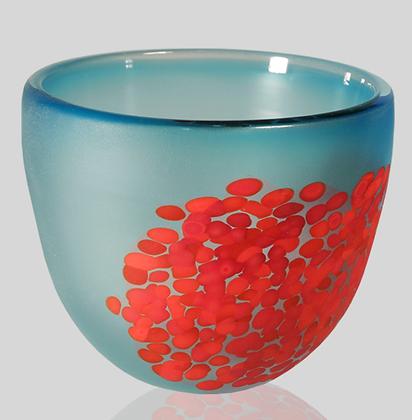 Aqua & Red Flava Bowl