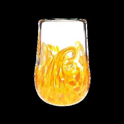 Orange Twisty Cup