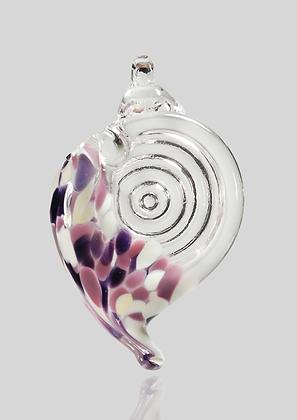Purple & White Shell