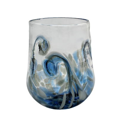 Blue Grey Twisty Cup
