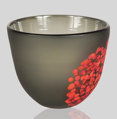 Grey & Red Flava Bowl