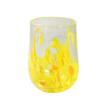 Yellow Twisty Cup