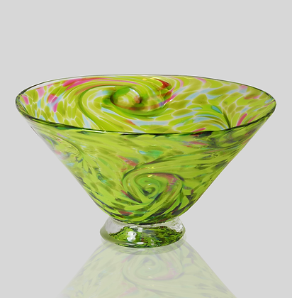 Green Starry Bowl