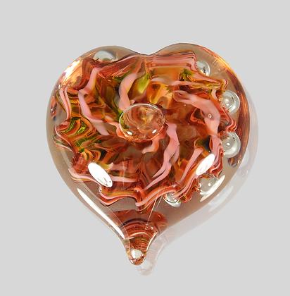 Pink Bubble Heart