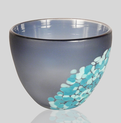 Steel Blue & Blue Flava Bowl