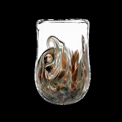Aubergine Grey Twisty Cup
