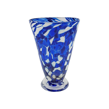 Royal Blue Speckled Cup
