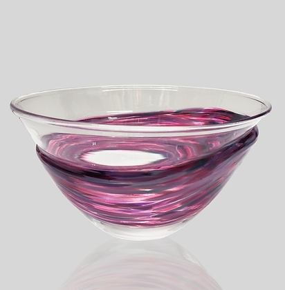 Purple Wrap Bowl