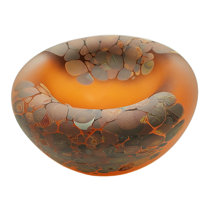 Jelly Bowl Apricot/Wood