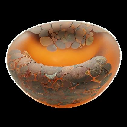 Jelly Bowl Apricot/Wood (Drop Ship)