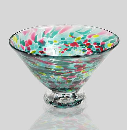 Teal Dessert Bowl