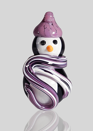 Purple Snow Penguin