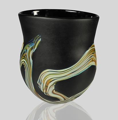 Black Root Vase
