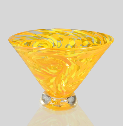 Orange Starry Bowl