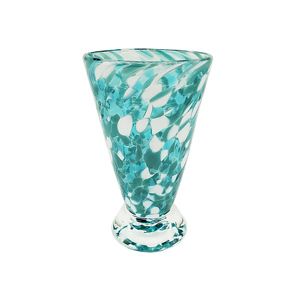 Peacock Speckled Cup